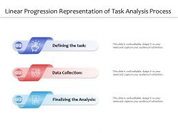 Linear Progression Representation Of Task Analysis Process