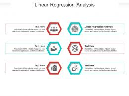 Linear Regression Analysis Ppt Powerpoint Presentation Layouts Clipart Cpb