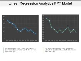 Linear Regression Analytics Ppt Model