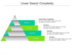 Linear Search Complexity Ppt Powerpoint Presentation Pictures Templates Cpb