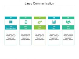 Lines Communication Ppt Powerpoint Presentation Styles Designs Cpb