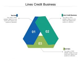 Lines Credit Business Ppt Powerpoint Presentation Infographic Template Clipart Images Cpb