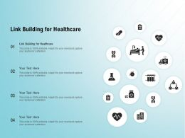 Link Building For Healthcare Ppt Powerpoint Presentation Model Layouts