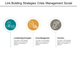 Link Building Strategies Crisis Management Social Media Distribution Cpb