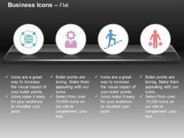 Link Wheel Seo Consulting Rise Plenty Ppt Icons Graphics