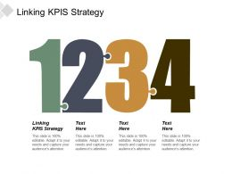 Linking Kpis Strategy Ppt Powerpoint Presentation File Templates Cpb