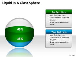 Liquid In A Glass Sphere PPT 12