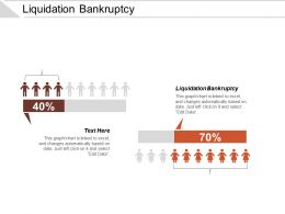 Liquidation Bankruptcy Ppt Powerpoint Presentation Styles Templates Cpb