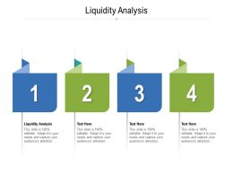 Liquidity Analysis Ppt Powerpoint Presentation Styles Inspiration Cpb