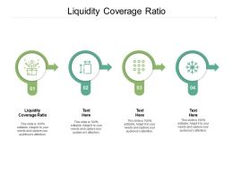 Liquidity Coverage Ratio Ppt Powerpoint Presentation Visual Aids Background Images Cpb