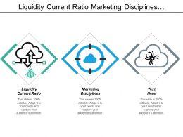 Liquidity Current Ratio Marketing Disciplines Customer Relationship Management Survey Cpb