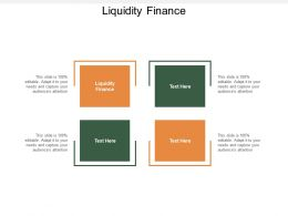 Liquidity Finance Ppt Powerpoint Presentation Pictures Example Topics Cpb