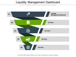 Liquidity Management Dashboard Ppt Powerpoint Presentation Gallery Rules Cpb