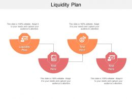 Liquidity Plan Ppt Powerpoint Presentation Outline Inspiration Cpb