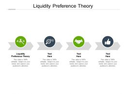 Liquidity Preference Theory Ppt Powerpoint Presentation Layouts Smartart Cpb