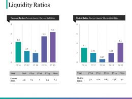 Liquidity Ratios Ppt Example File