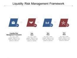 Liquidity Risk Management Framework Ppt Powerpoint Presentation Portfolio Slides Cpb