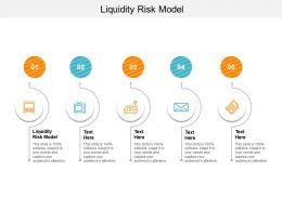 Liquidity Risk Model Ppt Powerpoint Presentation Pictures Icon Cpb