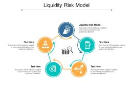 Liquidity Risk Model Ppt Powerpoint Presentation Portfolio Graphics Tutorials Cpb