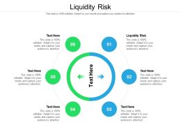 Liquidity Risk Ppt Powerpoint Presentation Show Example Cpb