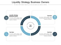 Liquidity Strategy Business Owners Ppt Powerpoint Presentation Ideas Introduction Cpb