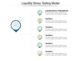 Liquidity Stress Testing Model Ppt Powerpoint Presentation Professional Graphics Design Cpb