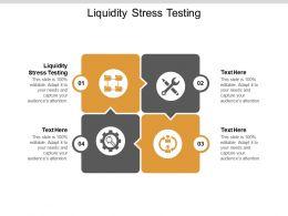 Liquidity Stress Testing Ppt Powerpoint Presentation Inspiration Templates Cpb