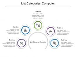 List Categories Computer Ppt Powerpoint Presentation Professional Visual Aids Cpb