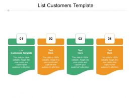 List Customers Template Ppt Powerpoint Presentation Pictures Good Cpb