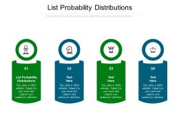 List Probability Distributions Ppt Powerpoint Presentation Professional Elements Cpb