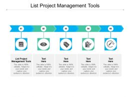 List Project Management Tools Ppt Powerpoint Presentation Slides Portrait Cpb