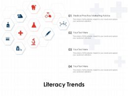 Literacy Trends Ppt Powerpoint Presentation Samples