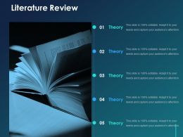 Literature Review Ppt Graphics