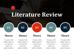 Literature Review Ppt Slides Deck