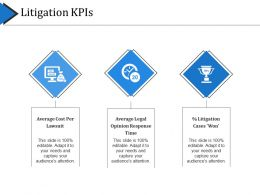 Litigation Kpis Example Ppt Presentation