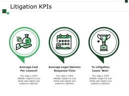 Litigation Kpis Powerpoint Templates Microsoft