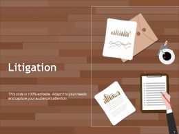 Litigation Powerpoint Slide Graphics