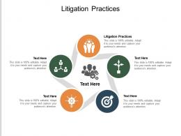 Litigation Practices Ppt Powerpoint Presentation Slides Structure Cpb