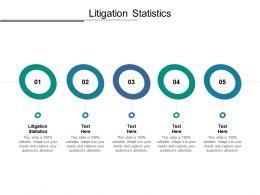 Litigation Statistics Ppt Powerpoint Presentation Styles Shapes Cpb
