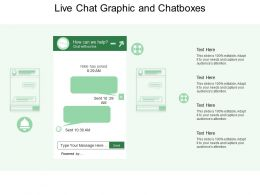 Live Chat Graphic And Chatboxes