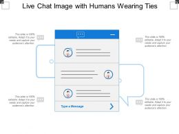Live Chat Image With Humans Wearing Ties