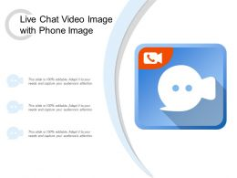 Live Chat Video Image With Phone Image