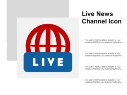 Live News Channel Icon