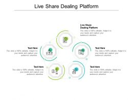 Live Share Dealing Platform Ppt Powerpoint Presentation Summary Designs Cpb