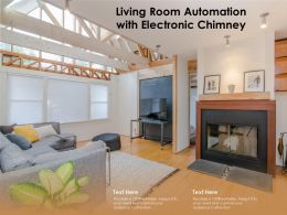 Living Room Automation With Electronic Chimney