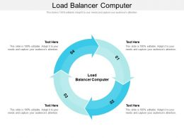 Load Balancer Computer Ppt Powerpoint Professional Graphics Tutorials Cpb