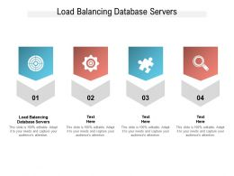 Load Balancing Database Servers Ppt Powerpoint Presentation Show Layout Cpb