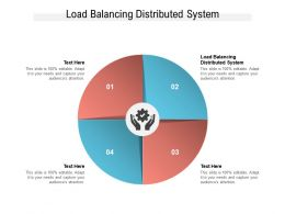 Load Balancing Distributed System Ppt Powerpoint Presentation Portfolio Graphics Cpb