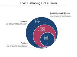 Load Balancing DNS Server Ppt Powerpoint Presentation Professional Graphics Pictures Cpb