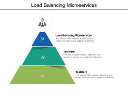 Load Balancing Microservices Ppt Powerpoint Presentation Professional Graphics Example Cpb